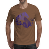Awesome Artistic Fun Blue Elephant Abstract Mens T-Shirt