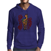 Awesome Artistic Llama Original Art Mens Hoodie