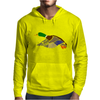 Awesome Artistic Mallard Duck Abstract Art Mens Hoodie