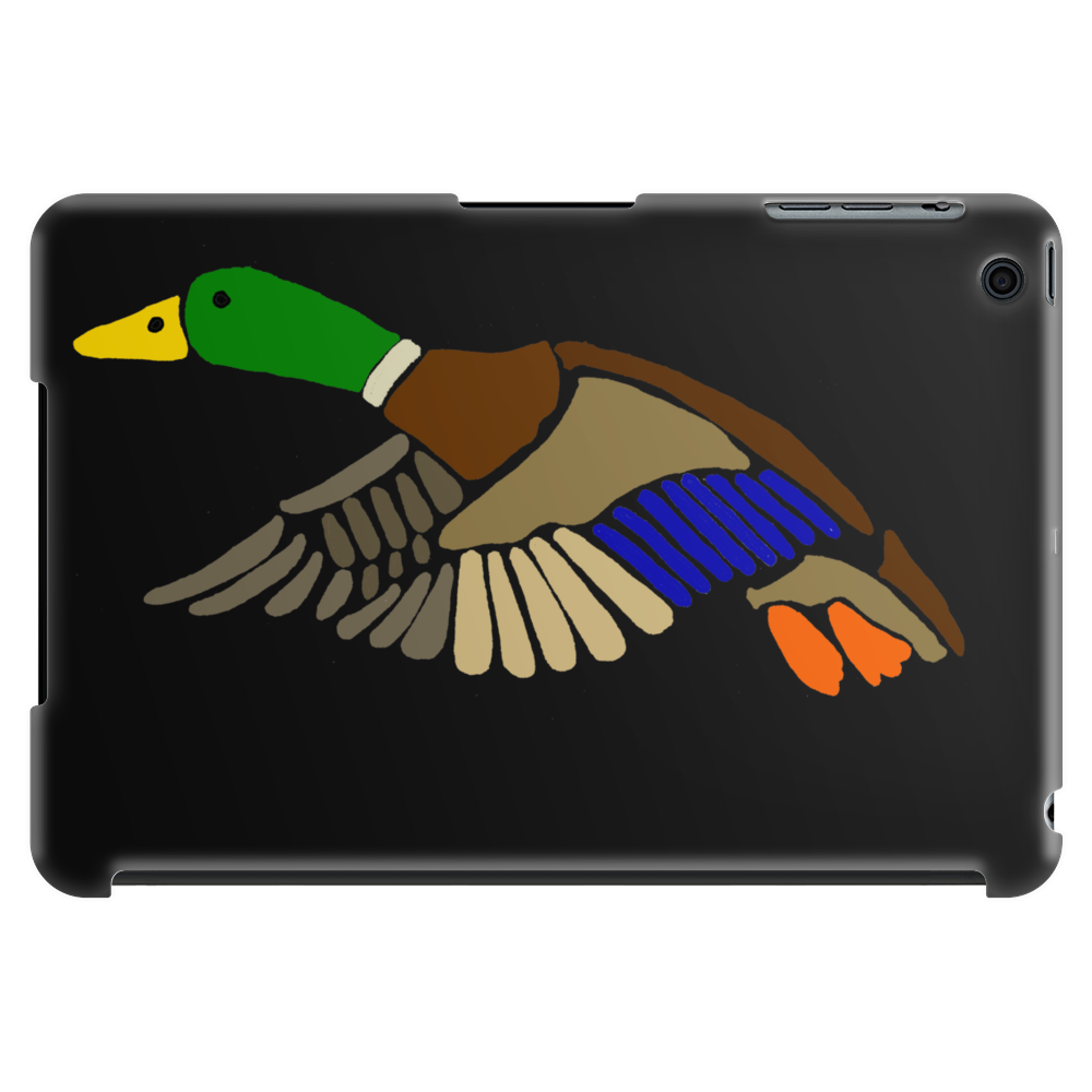 Awesome Artistic Mallard Duck Abstract Art Tablet