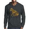 Awesome Artistic Mountain Lion Abstract Art Mens Hoodie