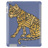 Awesome Artistic Mountain Lion Abstract Art Tablet