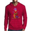 Awesome Artistic Owl Wizard Art Mens Hoodie