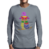 Awesome Artistic Owl Wizard Art Mens Long Sleeve T-Shirt
