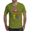 Awesome Artistic Owl Wizard Art Mens T-Shirt