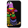 Awesome Artistic Owl Wizard Art Phone Case