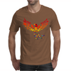 Awesome Artistic Phoenix Rising From the Ashes Original Abstract Art Mens T-Shirt