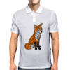 Awesome Artistic Red Fox Abstract Art Original Mens Polo