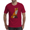 Awesome Artistic Red Fox Abstract Art Original Mens T-Shirt