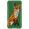 Awesome Artistic Red Fox Abstract Art Original Phone Case