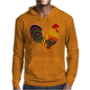 Awesome Artistic Rooster Abstract Art Mens Hoodie