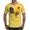 Awesome Artistic Rooster Abstract Art Mens T-Shirt