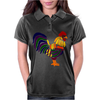 Awesome Artistic Rooster Abstract Art Womens Polo