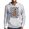 Awesome Artistic Sea Otter Playing Clarinet Mens Hoodie