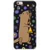 Awesome Artistic Sea Otter Playing Clarinet Phone Case