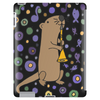 Awesome Artistic Sea Otter Playing Clarinet Tablet