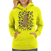 Awesome Artistic Sea Otter Playing Clarinet Womens Hoodie