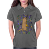 Awesome Artistic Sea Otter Playing Clarinet Womens Polo