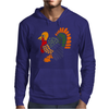 Awesome Artistic Turkey Abstract Art Mens Hoodie