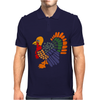 Awesome Artistic Turkey Abstract Art Mens Polo