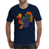 Awesome Artistic Turkey Abstract Art Mens T-Shirt