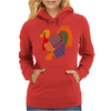 Awesome Artistic Turkey Abstract Art Womens Hoodie