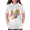 Awesome Artistic Turkey Abstract Art Womens Polo