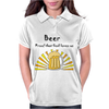 Awesome Beer Lover's Mug and Sun Rays Art Womens Polo