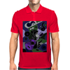 Awesome Black Labrador Retriever Dog Playing Guitar Art Mens Polo