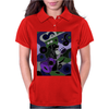 Awesome Black Labrador Retriever Dog Playing Guitar Art Womens Polo