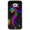 Awesome Colorful Rearing Horse Abstract Art Phone Case
