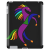Awesome Colorful Rearing Horse Abstract Art Tablet