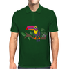 Awesome Colorful Toucan Bird Abstract Art Mens Polo