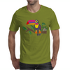 Awesome Colorful Toucan Bird Abstract Art Mens T-Shirt