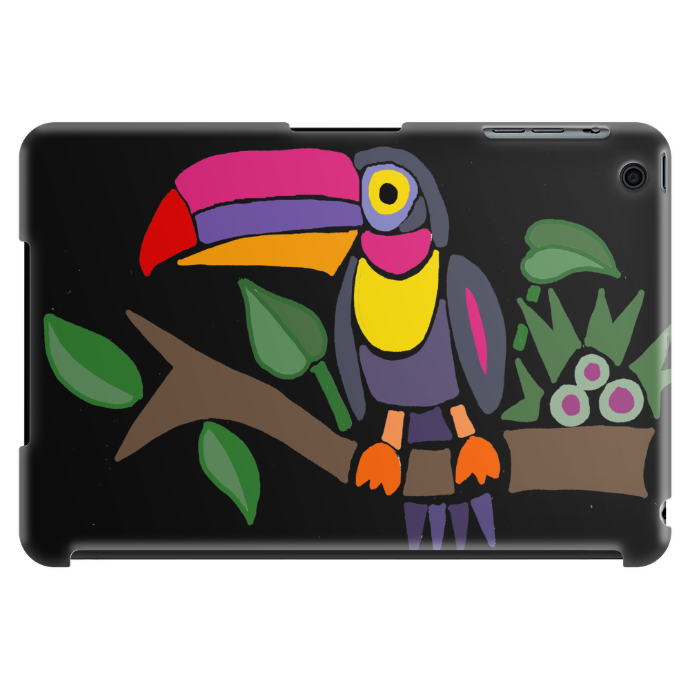 Awesome Colorful Toucan Bird Abstract Art Tablet