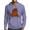 Awesome Cool and Funky Walrus Wearing Sunglasses Mens Hoodie