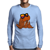 Awesome Cool and Funky Walrus Wearing Sunglasses Mens Long Sleeve T-Shirt