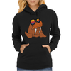 Awesome Cool and Funky Walrus Wearing Sunglasses Womens Hoodie