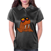 Awesome Cool and Funky Walrus Wearing Sunglasses Womens Polo