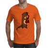 Awesome Cool Funny Otter Playing Saxophone Mens T-Shirt