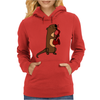 Awesome Cool Funny Otter Playing Saxophone Womens Hoodie