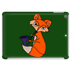 Awesome Cool Red Fox with Saxophone Tablet