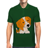 Awesome Cute Brittany Spaniel Puppy Dog Art Mens Polo