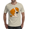 Awesome Cute Brittany Spaniel Puppy Dog Art Mens T-Shirt