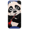 Awesome Cute Funny Panda Bear Playing Clarinet Phone Case