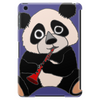 Awesome Cute Funny Panda Bear Playing Clarinet Tablet