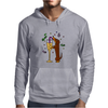 Awesome Dachshund Puppy Dog Drinkling from Champagne Glass Mens Hoodie
