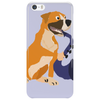 Awesome Fawn Boxer Dog Playing Saxophone Phone Case