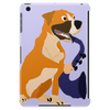 Awesome Fawn Boxer Dog Playing Saxophone Tablet