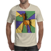 Awesome Folk Art Horse Original Art Mens T-Shirt